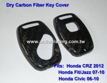Dry Carbon Fiber Honda Key Cover