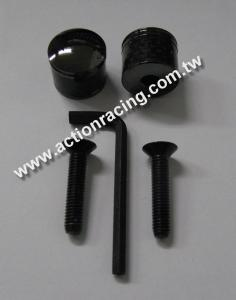 Carbon Fiber License Plate Screws AR-LPS011